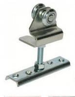 Каретка регулируемая с пластиной 2ролика 24 мм.сталь до 70 кг.