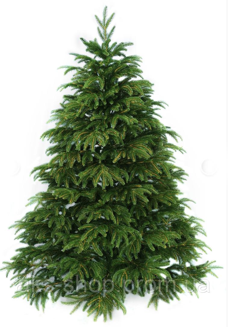 Ель искусственная литая 1,5 м Карпатская смерека зеленая|ЛИТА КАРПАТСЬКА СМЕРЕКА