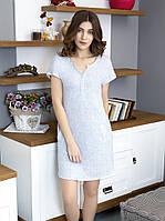 Подходит кормящим мамам Платье ночнушка ЛЮКС одежда для дома, фото 1