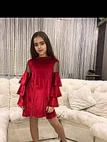 Платья «Ламбада» красный