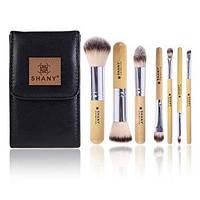 Подарочный набор кистей для макияжа shany i love bamboo - 7pc