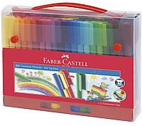 Фломастеры Faber Castell CONNECTOR 155560 в пластиковом чемодане (60 цв.)