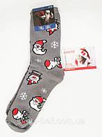 """Новогодние носки мужские  зимние махровые внутри хлопок """"Стиль Люкс"""" 41-45, фото 1"""