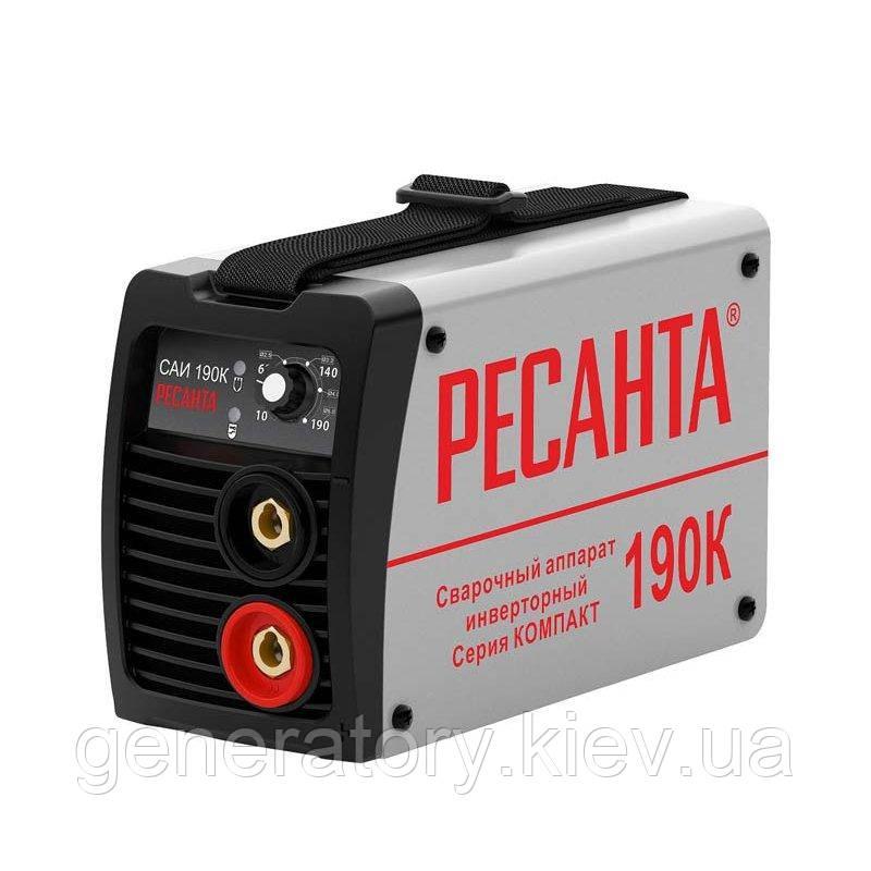 Сварочный инвертор Ресанта САИ 190 К (компакт)