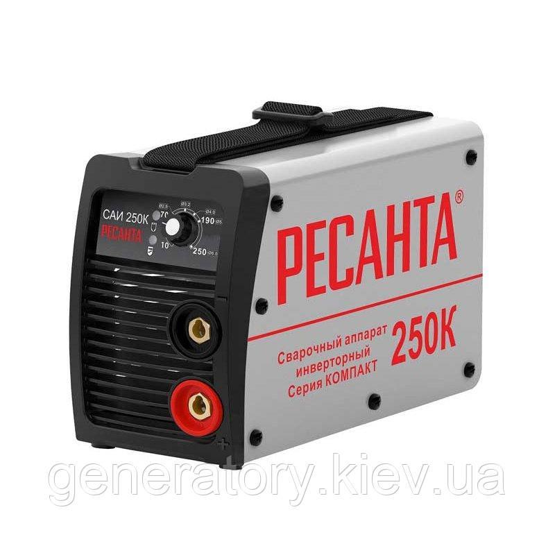 Сварочный инвертор Ресанта САИ 250 К (компакт)
