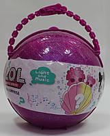 Набор LOL Pearl Surprise ЛОЛ в жемчужном шаре BB61, розовый