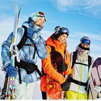 Куртки горнолыжные женские