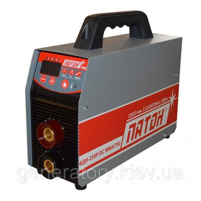 Сварочный инвертор Патон ВДИ-250P-380V DC MMA/TIG
