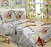 Детское постельное белье для девочек Пес в пижаме