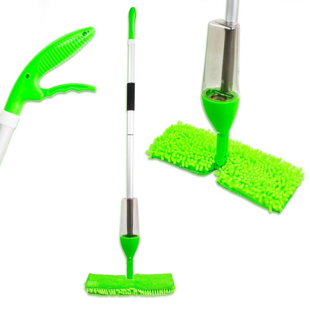 Распродажа! Швабра с распылителем для уборки пола с дополнительной насадкой для мытья окон Healthy Spray Mop