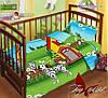 Детское постельное белье в кроватку для девочек и мальчиков Далматин