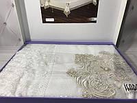 Скатерть с кружевами, 160Х220 см Asel white