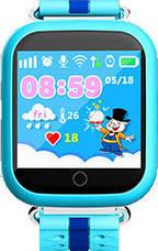 Детские умные часы с GPS Smart Baby Watch Q100s сенсорный экран, розовые, фото 2