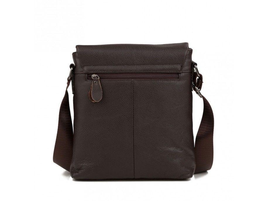 3c17e359aadf Мужская сумка через плечо Vintage 14577 кожаная Коричневая (Натуральная  кожа), цена 1 235 грн., купить Указывайте рабочий номер VIBER.