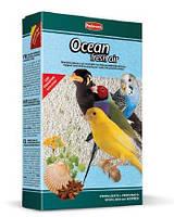 PADOVAN Ocean fresh air - Гигиенический кварцевый наполнитель для птиц с измельченными ракушками