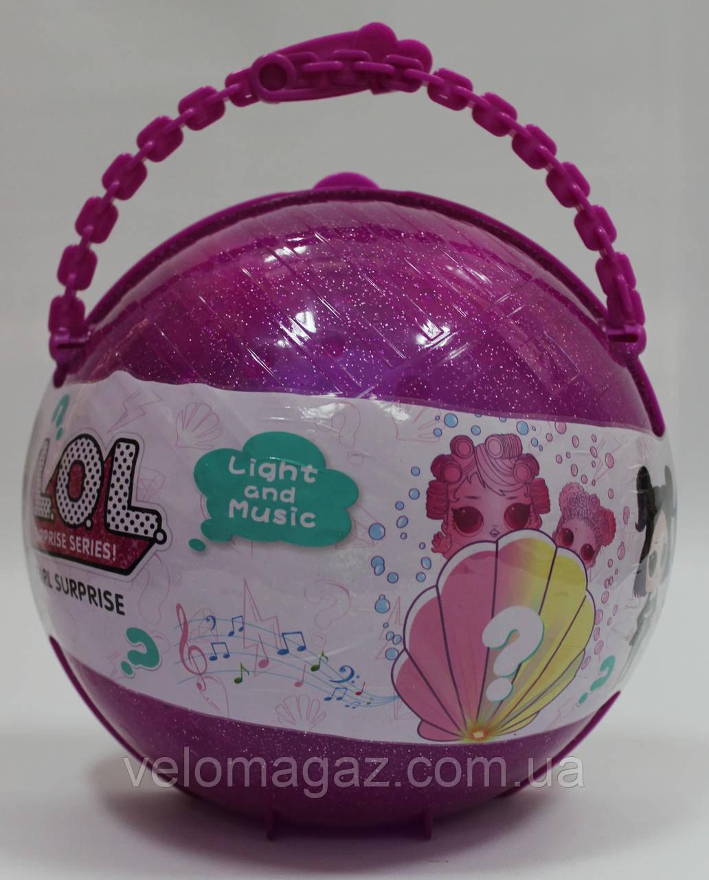 Набор LOL Pearl Surprise ЛОЛ в жемчужном шаре BB61, реплика, розовый