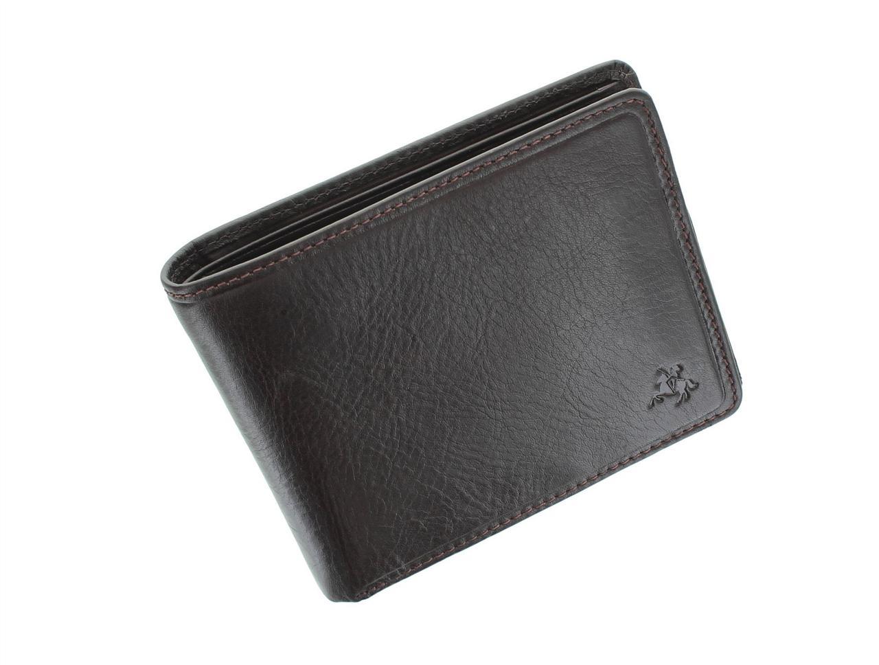 Качественное портмоне без застежки Visconti TSC46 Brown (Великобритания)
