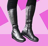 Удобные женские сапоги (кожа и текстиль) Tucino. Размер 38, фото 1