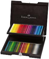 Акварельные цветные карандаши Faber Castell POLYCHROMOS 110072, 72 цв. (деревянная коробка)