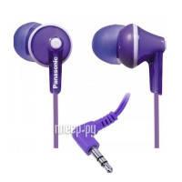 Навушники вакуумні провідні без мікрофона Panasonic RP-HJE118GU-V Full Purple (RP-HJE118GU-V)