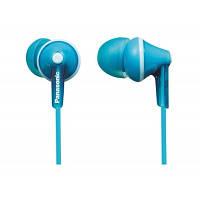 Навушники вакуумні провідні без мікрофона Panasonic RP-HJE125E-Z Blue