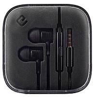 Навушники вакуумні провідні з мікрофоном Ergo ES-600i Minion Black (6220291)