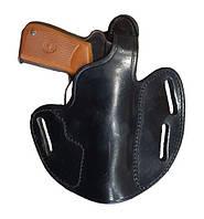 Универсальная (поясная/оперативная) кобура PWL (Walther,ПМ), кожа. Великобритания, оригинал.