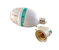 Диско-лампа Led mini party light+переходник в розетку