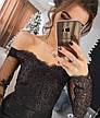 Платье кружевное с  открытыми плечами , фото 2