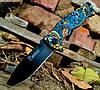 Складной полуавтоматический нож Boker B048 с принтом