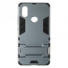 Чехол накладка силиконовый Honor® Defence для Xiaomi Pocophone F1 серый