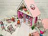 Будиночок для LOL LITTLE FUN + шпалери + шторки + меблі + текстиль +сходи + ДВОРИК
