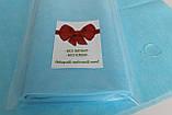 Пеленка (салфетка) QSLEEP влагостойкая 48х44см голубая (10шт/уп), фото 2