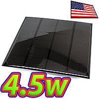Солнечная ячейка 6В 4.5Вт