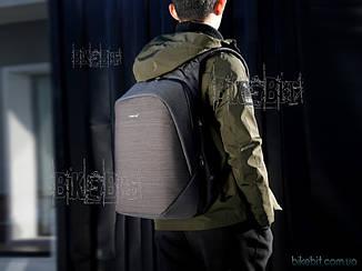 Рюкзак городской Tigernu T-B3351 USB черный Светло-серый