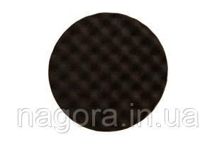 Рельефный поролоновый полировальный диск MIRKA 150мм, чёрный, (2 шт.\уп).