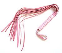 Игровая плетка розовая 49 см