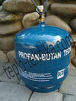 Балон для сжиженного газа — 3кг (Польша), качественный газовый баллон объемом - 8 литров Европейское качество
