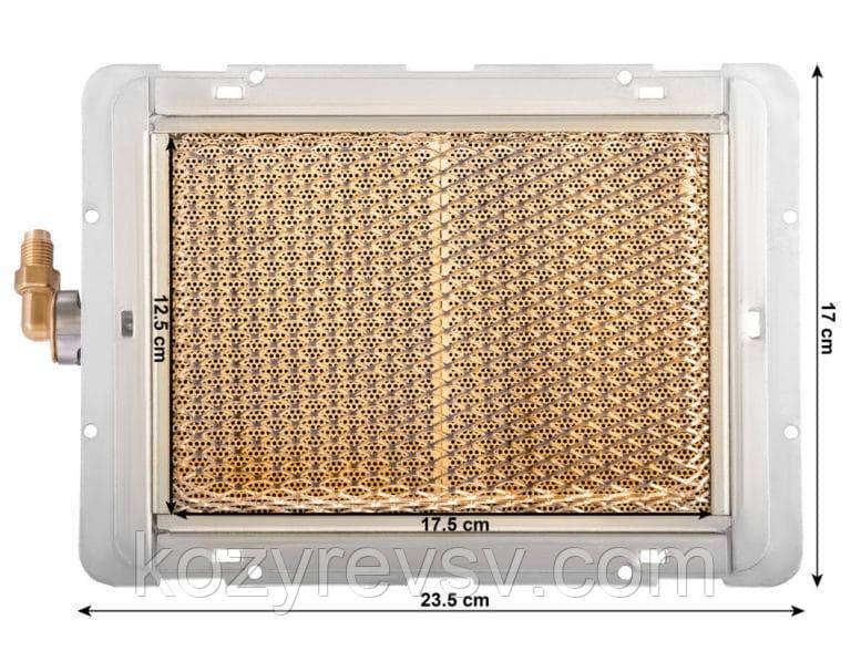 Газовая керамическая горелка инфракрасного излучения  Vita GP-2000 продам постоянно оптом и в розницу,доставка