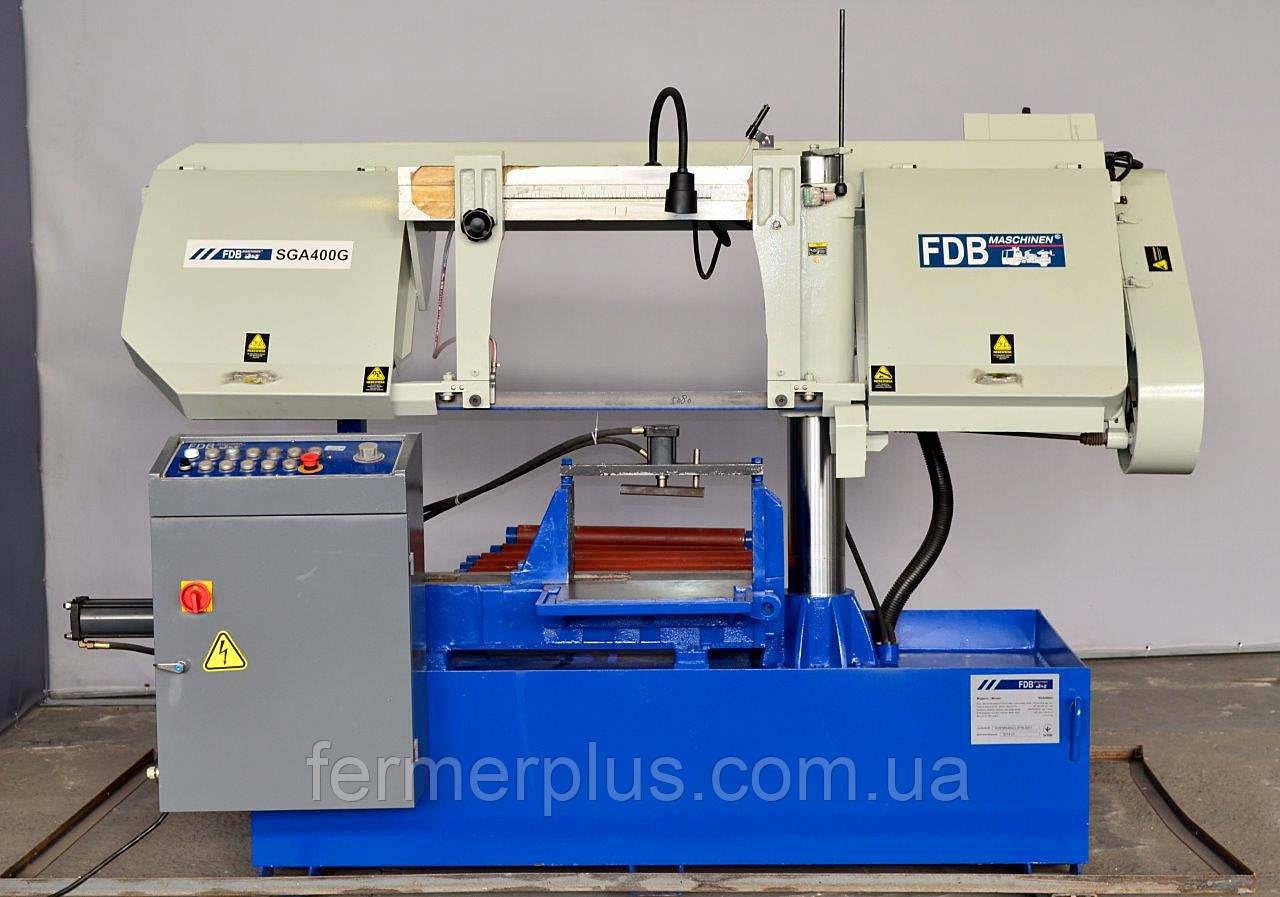 Ленточно-пильный станок полуавтомат FDB Maschinen SGA 400G