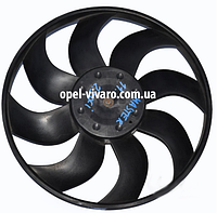 Вентилятор осн радиатора D380 9 лопастей 2 пина FWD Opel Movano 2010-2018 921204919R