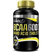 Амінокислоти BioTech - BCAA 6000 (100 таблеток)