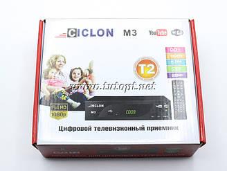 Цифровой Тюнер Т2 CICLON Youtube WiFi FullHD 1080 HDMI Пластик (без гарантий)