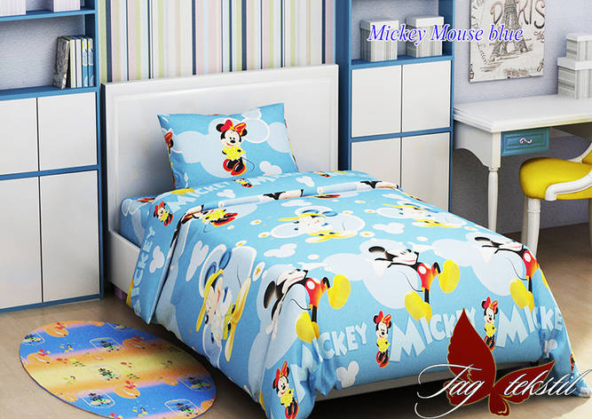 Mickey Mouse blue, фото 2
