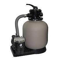 Фильтр для бассейнов (песочный фильтр и насос для бассейнов в комплекте) Bridge BC2021 350мм