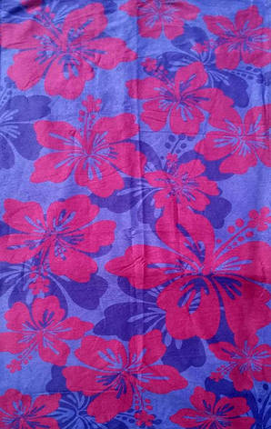 Полотенце пляжное Flowers, фото 2