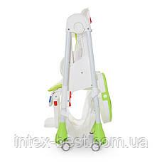 Детский стульчик для кормления Bambi M 3822-1 (Салатовый), фото 3