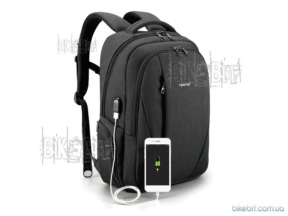 Рюкзак городской Tigernu T-B3399 USB black bobby
