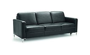 Кожаный диван 3F - функция сна - кожа