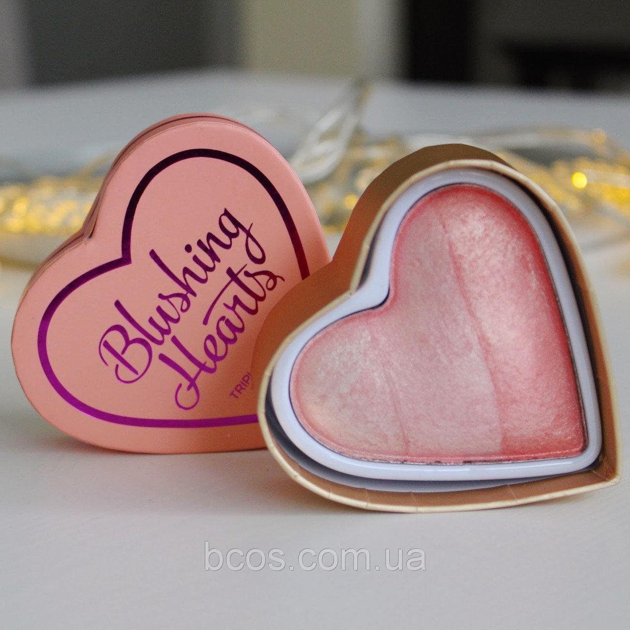 Румяна для лица Makeup Revolution Peachy Pink Kisses